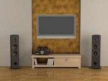sintonizzatore della Ciao-fine ed acustico Fotografie Stock Libere da Diritti