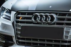 Sintonizzazione di Audi S7 Immagini Stock Libere da Diritti
