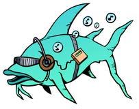 Sintonizzi un pesce Fotografia Stock Libera da Diritti