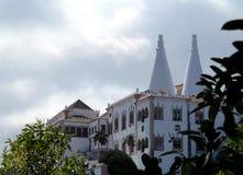 Sintra国家宫殿 库存照片