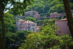 Sintra,葡萄牙。 全视图 免版税库存照片