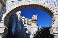 sintra της Λισσαβώνας Πορτογ&al Στοκ φωτογραφία με δικαίωμα ελεύθερης χρήσης