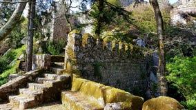 Sintra, замок Sintra и природа Стоковое фото RF