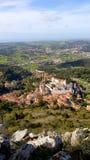 Sintra, замок Sintra и природа Стоковое Изображение