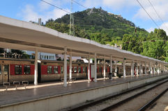 Sintra - Bahnstation Stockfoto