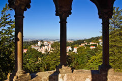 Sintra Balcony Royalty Free Stock Photography
