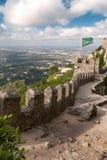 Sintra, castello di Moriscos Immagine Stock Libera da Diritti