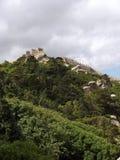 Sintra - Castelo Dos Mouros Stock Afbeeldingen