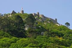 Sintra Castelo dos Mouros Royalty Free Stock Photo