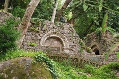 Sintra, castillo del amarra Fotografía de archivo libre de regalías