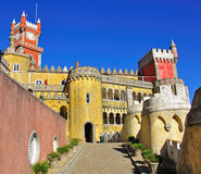 Sintra castle. Ana palace, Portugal Royalty Free Stock Photography
