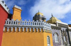 Sintra castle Stock Images