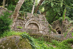 Sintra, Castle of the Moors Royalty Free Stock Photography