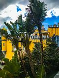 Sintra Castle royalty free stock images