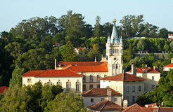 Sintra city hall. Palace of Sintra Town Council-city hall Stock Photos