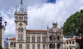 Sintra city hall, Portugal Royalty Free Stock Images