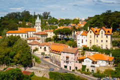 Sintra cityscape Stock Photos