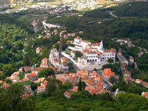 Sintra downtown stock photography