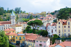 Sintra Historical center (Portugal) Royalty Free Stock Image