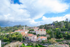 Sintra Historical center (Portugal) Royalty Free Stock Photo
