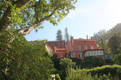 Sintra, its villas and gardens. Royalty Free Stock Images