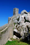 Sintra, moors castle / Portugal Royalty Free Stock Image