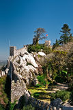 Sintra - the Moors fortress Royalty Free Stock Image