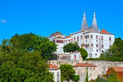 The Sintra National Palace Royalty Free Stock Photography