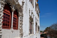 The Sintra National Palace - Detail Stock Photos