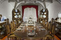 Sintra National Palace dining room Royalty Free Stock Photography