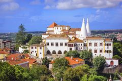 Sintra National Palace Stock Images