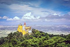 Sintra National Palace Stock Image