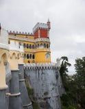 Sintra. Palácio Nacional da Pena. Sintra, Portugal - May 12, 2017: Palácio Nacional da Pena, details royalty free stock image