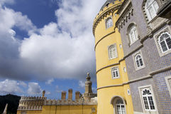 Sintra palace Royalty Free Stock Image