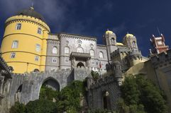 Sintra palace Stock Photos