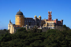 Sintra Palacio Pena Royalty-vrije Stock Foto's