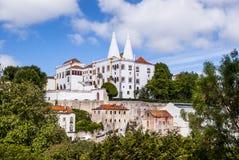 Sintra Palast Lizenzfreie Stockbilder