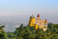 Sintra Pena pałac obraz royalty free