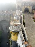 Sintra Pena Palace stock photos