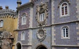 Sintra, Portugal - 2 de julio de 2010: El palacio del nacional de Pena Fotos de archivo libres de regalías