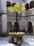 Sintra, Portugal - 2 de julio de 2010: El palacio del nacional de Pena Imagenes de archivo