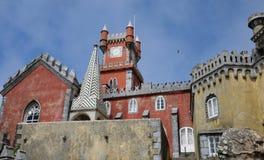 Sintra, Portugal - 2 de julio de 2010: El palacio del nacional de Pena Fotografía de archivo