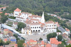 Sintra portugal 2015 Royalty Free Stock Photos