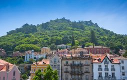 Sintra, Portugal. General view Royalty Free Stock Photography