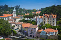 Sintra, Portugal. General view Royalty Free Stock Image