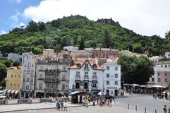 Sintra, Portugal. Sintra is known for its many 19th-century Romantic architectural monuments, which has resulted in its classification as a UNESCO World Heritage Royalty Free Stock Images