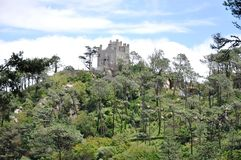 Sintra, Portugal. Sintra is known for its many 19th-century Romantic architectural monuments, which has resulted in its classification as a UNESCO World Heritage Stock Photography