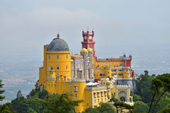 Sintra, Portugal no palácio do nacional de Pena Imagens de Stock