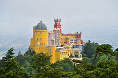 Sintra, Portugal no palácio do nacional de Pena Foto de Stock