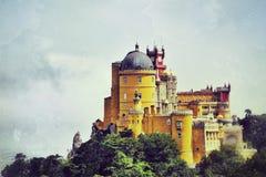 Sintra, Portugal no palácio do nacional de Pena Fotografia de Stock